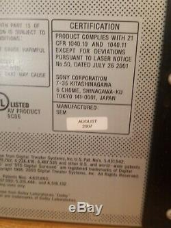 Sony DVP-CX995V 400 Disc Changer Progressive DVD/SACD/CD Player