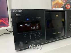 Sony DVP-CX995V 400-Disc Explorer CD / DVD / SACD Changer Player! No Remote