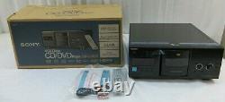 Sony DVP-CX995V 400-disc CD/DVD Changer Player Black New Open Box
