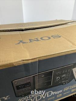 Sony DVP-CX995V 400-disc DVD Changer/ Player Brand New in Retail Box