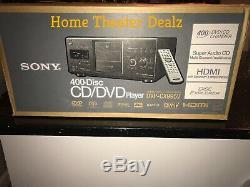 Sony DVP-CX995V 400-disc DVD changer/ player Brand-New Rare