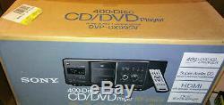 Sony DVP-CX995V 400-disc DVD changer/ player Brand-New Retail Box