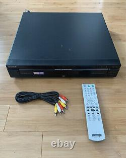 Sony DVP-NC675P CD DVD 5-Disc Changer Player Compact Disc Carousel With Remote