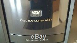 Sony Disc Explorer 400 DVD Player / Changer + Remote Control CD/DVD/SACD Mega