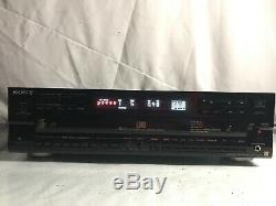 Sony ES CDP-C77ES 5 Disc CD Changer Player Made In Japan