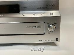 Sony ES SACD/DVD/CD Player 5 Disc Changer Tested / Works no remote dvp-nc555es