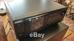 Sony Jukebox Mega Storage 50+1 Compact Disc Player Changer CDP-CX53 Fully Tested