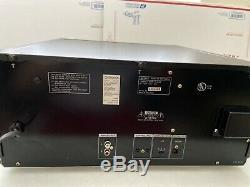 Sony Mega Storage 200 Disc CD Player Changer CDP-CX235 New Belt And Cleaned