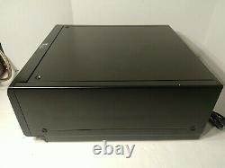 Sony Mega Storage 300 Disc CD Changer Player CDP-CX355 Works Great New Belts