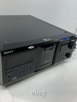 Sony Mega Storage 400 Disc CD Changer Player CDP-CX400 WithRemote NEW BELTS Tested