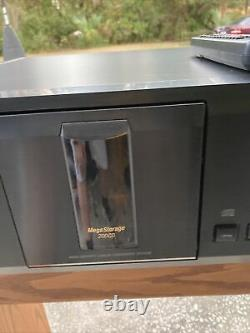 Sony MegaStorage 200-Disc CD Player Changer CDP-CX225 TESTED With REMOTE