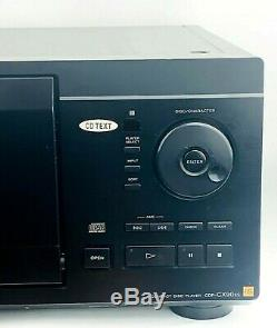Sony MegaStorage CDP-CX90ES 200 Compact Disc Player CD Text Changer Storage