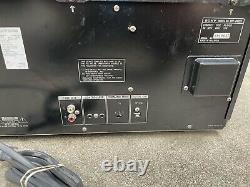 Sony MegaStorage MULTI 200-Disc CD Player Changer CDP-CX225 + Remote Tested
