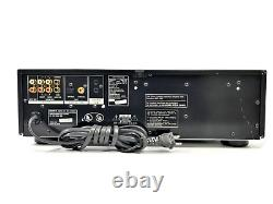 Sony SCD-C555ES Super Audio CD Player 5 Disc Multi SACD/CD Changer NOT WORKING