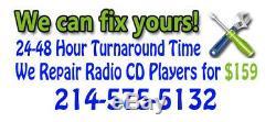 TOYOTA 4Runner JBL Radio Stereo 6 Disc Changer Tape Cassette CD Player OEM 56827