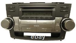 TOYOTA Highlander Satellite Radio 6 Disc Changer MP3 CD Player 51858 FACTORY OEM