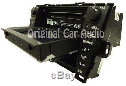TOYOTA Prius Navigation GPS Radio 4 Disc Changer MP3 CD Player E7022 LCD Display