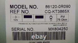 TOYOTA Rav4 JBL Satellite AM FM XM Radio 6 Disc Changer MP3 CD Player OEM
