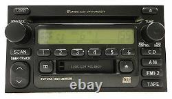 TOYOTA Sequoia Sienna Solara Tundra Land Cruiser Radio 6 Disc Changer CD Player