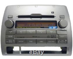 TOYOTA Tacoma JBL XM Satellite Radio 6 Disc Changer MP3 CD Player A51864 OEM