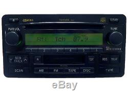 TOYOTA Tundra Sequoia JBL Radio Stereo 6 Disc Changer CD Player Cassette A56839