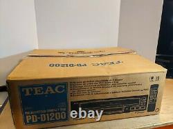 Teac PD-D1200 5-Disc CD Player Changer Compact Disc Carousel with Box Refurbished