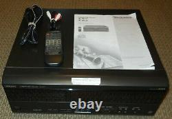 Technics SL-MC7 110+1 CD Compact Disc Changer/Player WithRemote, Manual Serviced