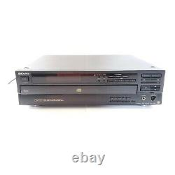 (Tested) Sony CDP-C601ES 5-Disc CD Changer/ Player, CP1067109, Fast Shipping