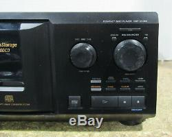 Tested Sony CDP-CX355 300CD MegaStorage Compact Disc CD Changer Player