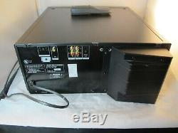 Tested Sony CDP-M555ES 400 Disc CD Changer/ Player with remote