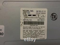 Toyota 4runner Rav4 Radio AM FM 6 Disc Changer CD Player JBL 03 04 05 A56837