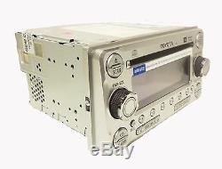 Toyota FJ Cruiser OEM Radio JBL Stereo 6 Disc Changer MP3 Cd Player AUX 11861