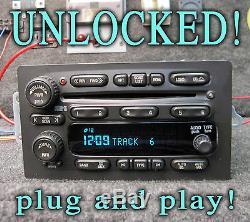 Unlocked! 03 04 05 06 Silverado Denali Suburban Radio 6 CD Disc Changer Player
