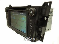 Unlocked CADILLAC SRX GPS Navigation Radio Stereo 6 Disc Changer CD DVD Player