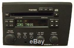 VOLVO S60 V70 Radio Stereo 4 Disc Changer CD Player HU-803 RDS OEM 01 02 03