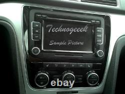 VW VOLKSWAGEN Touch Screen AM FM Radio 6 Disc Changer MP3 CD Player OEM RCD-510