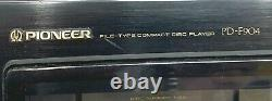 Vintage Pioneer PD-F904 100 Compact Disc MULTI CD Changer Player Works No Remote