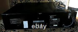 Vintage Sony CDP-C601ES 5 Disc CD Disc Changer Player Clean TESTED WORKING