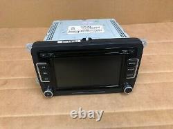 Volkswagen Oem Vw Passat Jetta Tijuan Radio Stereo Headunit CD Player 2010-2017