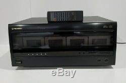 Vtg Pioneer PD F904 100 CD Disc Player File Type Changer CDFile Remote Excellent