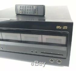 Vtg Pioneer PD F904 100 CD Disc Player File Type Changer CDFile w Remote Tested