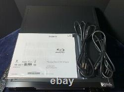 -WORKING GREAT! - Sony BDP-CX7000ES 400 Disc Changer/Blu-ray Player With Remote