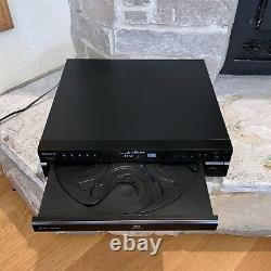 Working Sony SCD-CE595 Super Audio 5-Disc Changer + Remote 5.1 Channel CD Player