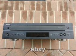 YAMAHA CDC-697 5-Disc Carousel CD DISC Changer PLAYER + REMOTE Cables