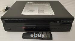 Yamaha CDC-575 Home Audio Stereo 5 CD Compact Disc Carousel Changer Player