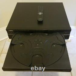 Yamaha CDC-585 5 CD Compact Disc Changer/Player WithRemote Works Great