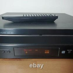Yamaha CDC-697 5-Disc Carousel CD DISC Changer Player With Remote & Cords