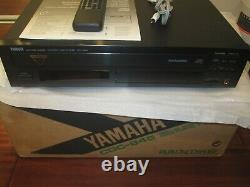 Yamaha CDC-845 5-Disc Compact Disc CD Changer Player With REMOTE MINT COND